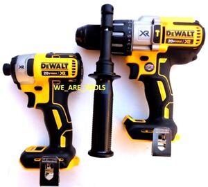 DeWalt-DCD996-20V-XR-1-2-Hammer-Drill-DCF887-Impact-20-Volt-Brushless-3-Speed
