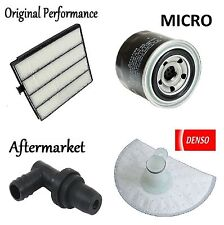 Tune Up Kit Cabin Air Oil Fuel Filters PCV Valve for Honda Odyssey 2002-2003