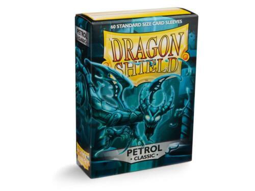 Dragon Shield Petrol Classic 60ct Standard Sized Sleeves NEW