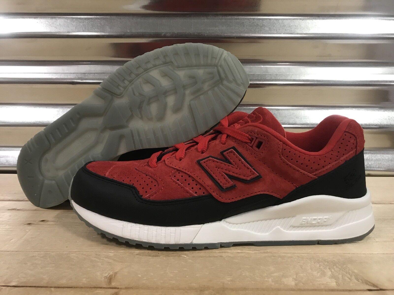 New Balance 530 ENCAP Running shoes Suede Red Black SZ 7 ( M530CBB )
