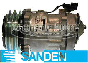 Sanden-4497-4704-A-C-Compressor-w-Clutch-NEW-OEM