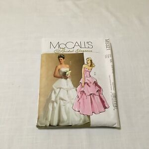 McCall/'s 5321 Misses/' Bridal Top and Skirt  Sewing Pattern