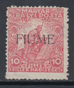 ITALY-Fiume-Sassone-n-1A-MNH
