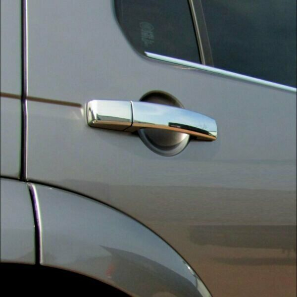 Stainless Steel Door Handle Covers Chrome
