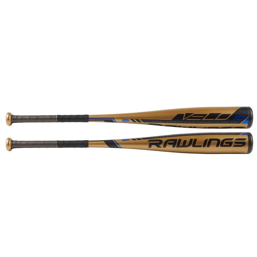 2019 Rawlings Velo -10 USSSA 2 3 3 3 4″ Alloy Baseball Bat UT9V10 28 18 51808d
