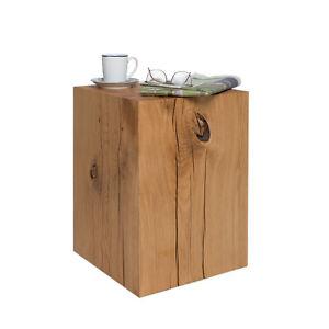 Wooden Block Wood Block Coffee Table Stool 36x36 Cm Oak Solid Wood Oak Block Ebay