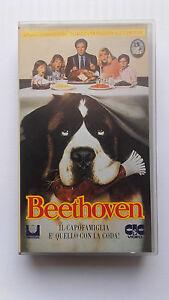 VHS-BEETHOVEN-DI-BRIAN-LEVANT-USATO