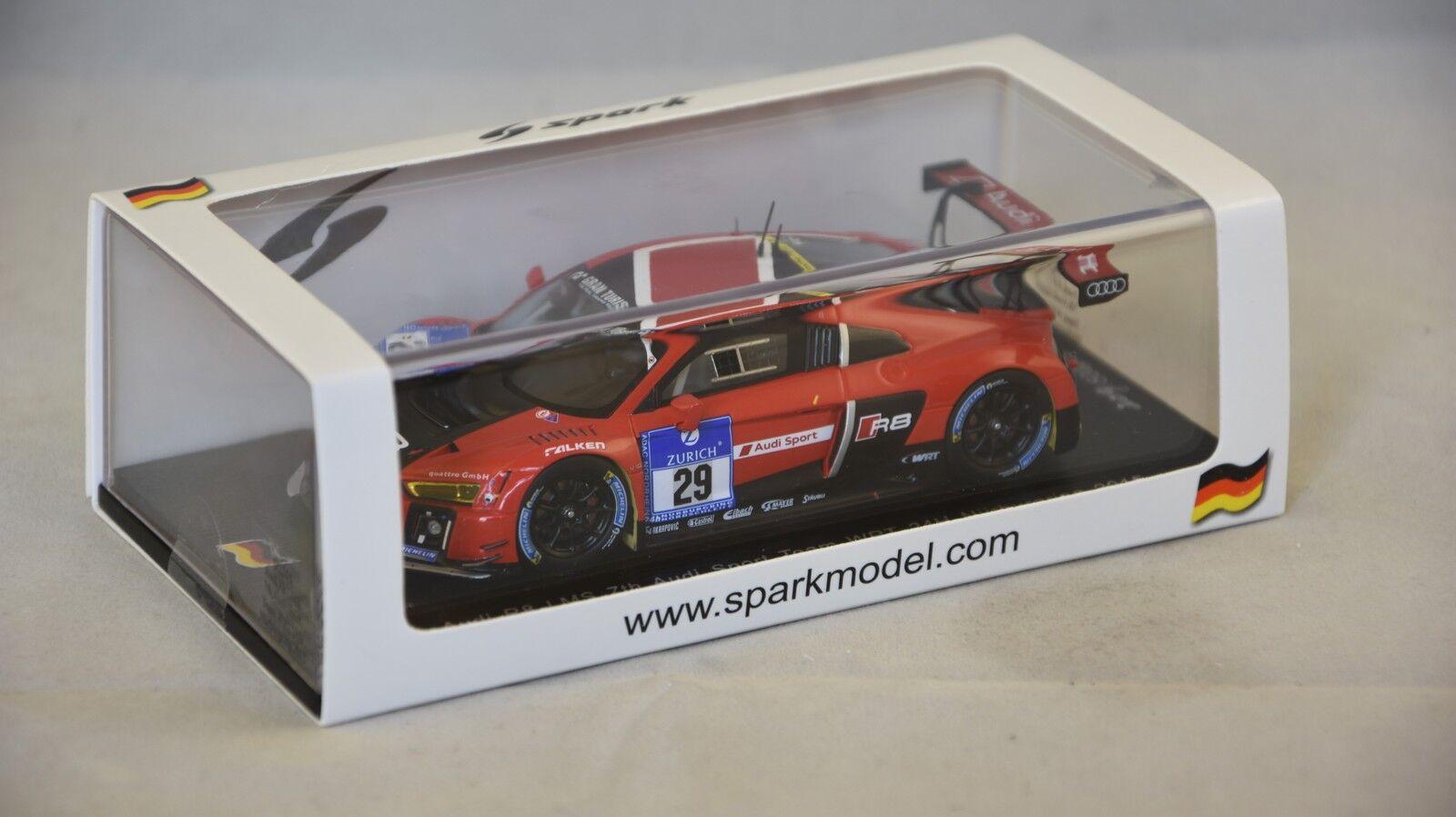 Spark SG205 - AUDI R8 LMS WRT n 29 7ème 24H Nurburgring 2015 1/43