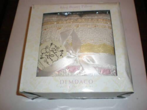 DEMDACO RING BEARER PILLOW NEW IN BOX