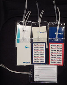 Luggage-tag-North-Central-Republic-Airlines-w-playing-card-choose-design