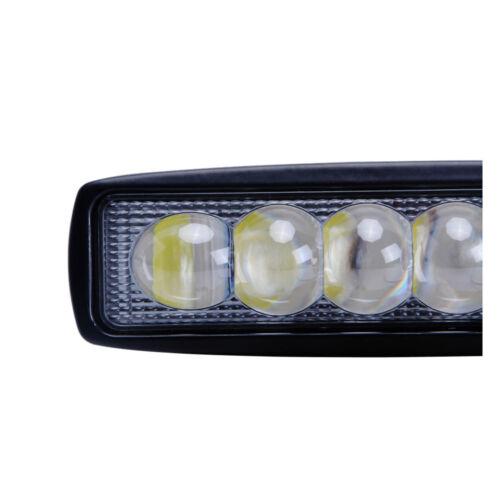 20X 6inch 18W Led Work Light Bar Spot Offroad 4WD Trailer 4X4WD ATV 4D Opticals