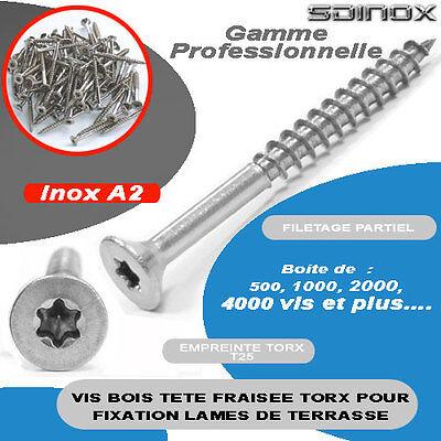 500 panneaux de particules vis torx acier inoxydable a2 v2a 4,5x35