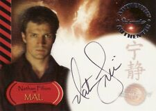 Serenity The Movie Nathan Fillion as Mal A1 Auto Card Castle Firefly