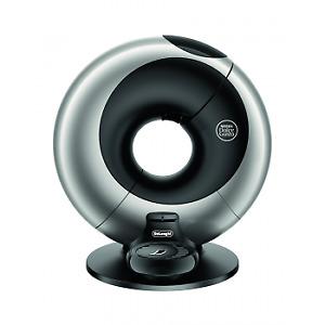 NESCAFE Dolce Gusto Eclipse Automatic Platinum Silver Coffee Machine by DeLonghi