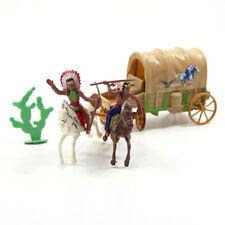 P2520 Modell Figuren Indische und Wagen Stämme Die Best Western Region Cowboy