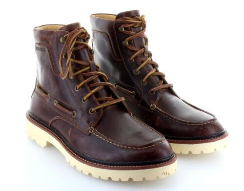 Sperry Top Sider oro luc MOC tan Boot botas zapatos de piel talla 42/us 9