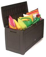 Gartenbox, Gartentruhe, Kissenbox, Auflagenbox 310 Liter / Matuba Mbm310