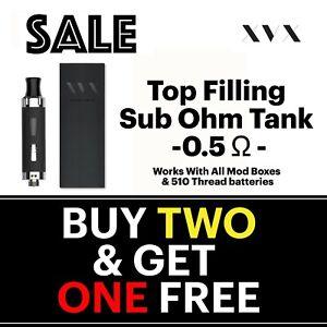 APEX-E-Cigarette-Cig-Starter-Kit-Replacement-Tank-Top-Filling-0-5-Sub-Ohm-Vape