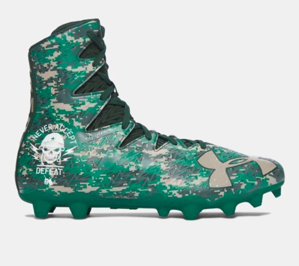 482381e9940 Frequently bought together. Under Armour UA Highlight MC LE Size 12 Football  Cleats Camo Green ...