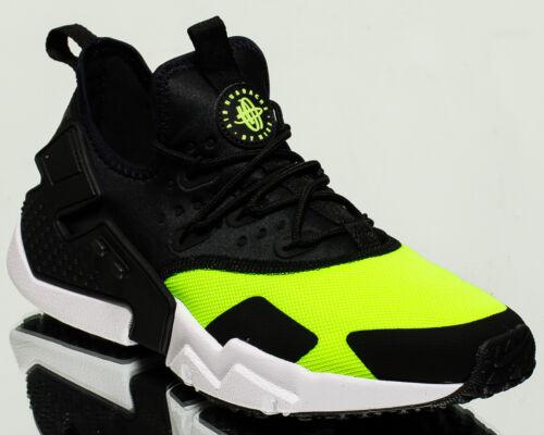 Nike Drift Neu Luft Volt Weiß Herren Turnschuhe Schwarz Huarache Lifestyle D29EIH