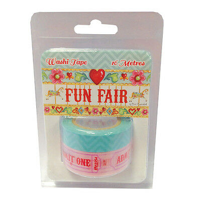 Pack Fun Fair by Helz Cuppleditch Washi Tape great for cards and crafts