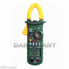 Mastech Ms2108 True Rms Acdc Mini Current Clamp Meter Clampmeter 6600 Counts