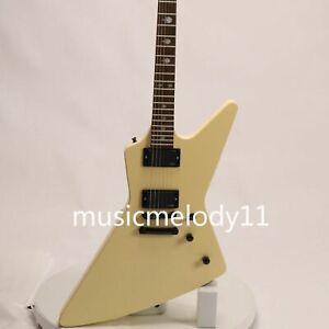 Electric Guitar Eet Fuk Middle Finger Inlays Metallica Black Color EX Style