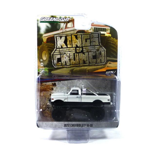 Greenlight 49030 Chevrolet K-10 White - Kings Of Crunch Scale 1:64 New °