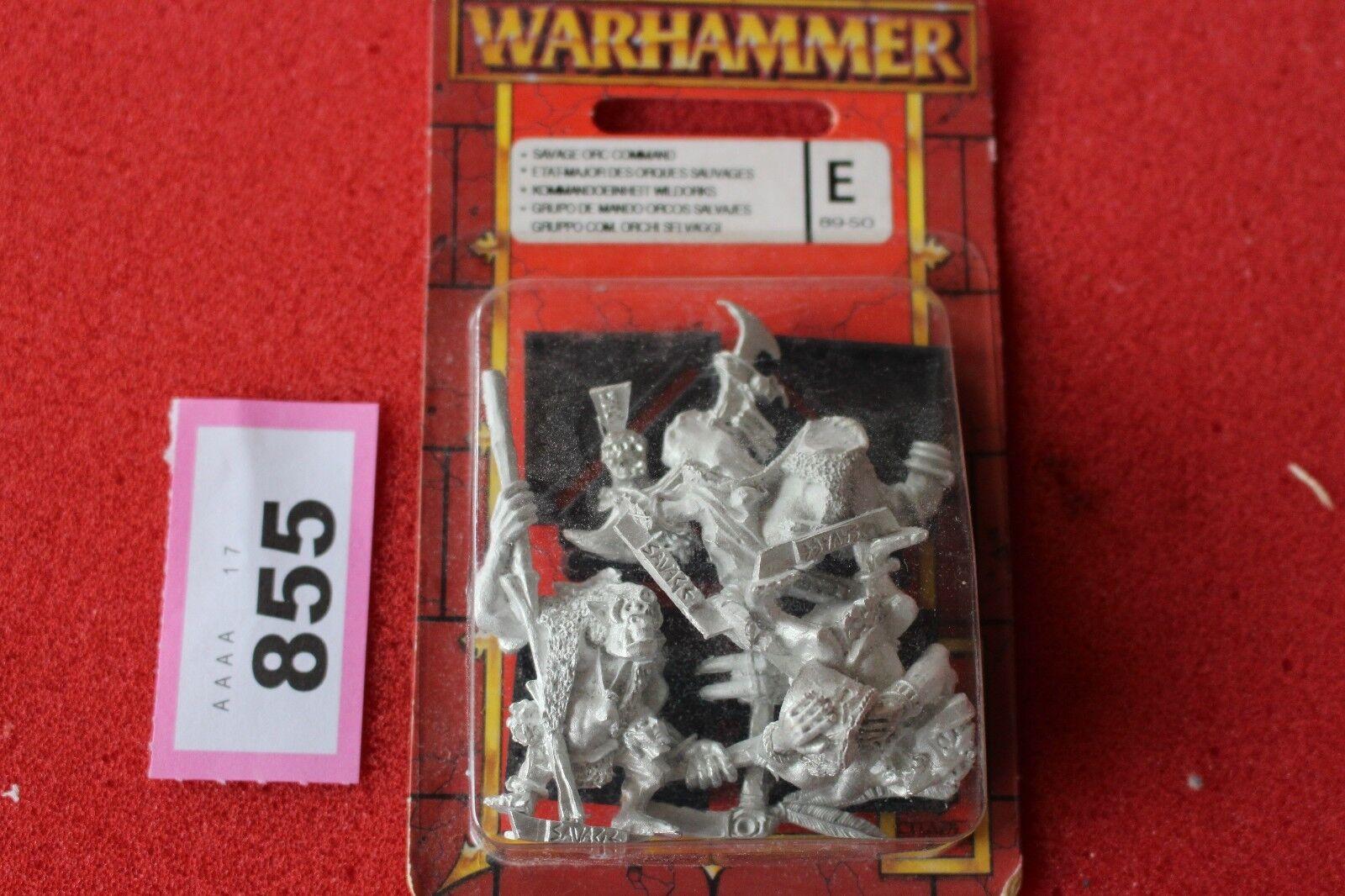 Games workshop warhammer savage orks kommando held bnib new metal abbildung armee ork