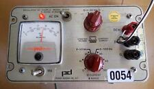Power Designs Regulated Power Source 5005s Dc Power Supply 0 50vdc 0 500ma