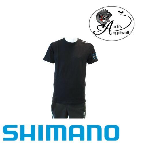 verschiedene Größen Shimano T-Shirt 2020 Black sehr bequeme Shirts