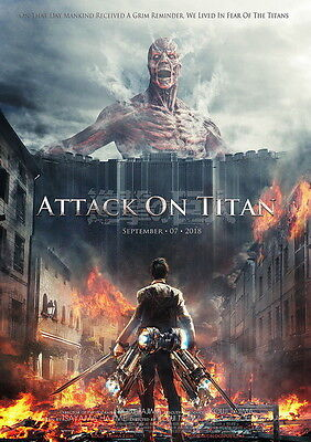 "12 Attack On Titan - Japanese Manga Anime Art 14""x20"" Poster"