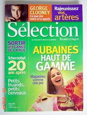 SÉLECTION DU READER'S DIGEST DE MAI 2006, EN COUVERTURE AUBAINES HAUT DE GAMME
