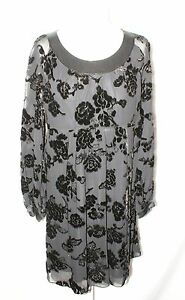 WHISTLES-Silk-Little-Black-dress-size-UK12-US8-EU40
