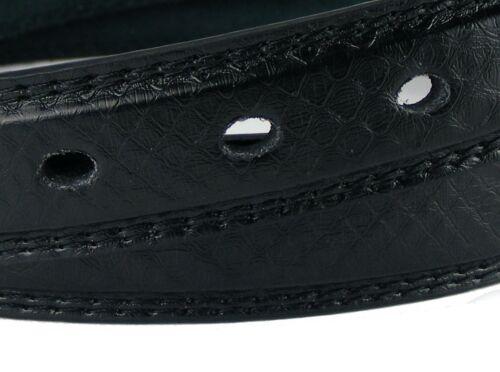 Ceinture Hommes Femmes Ceinture noir couture étroit 2,5 cm Jeans Ceinture hrg68d