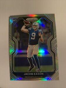 2020 Panini Prizm Jacob Eason #331 Rookie Silver Prizm Colts RC