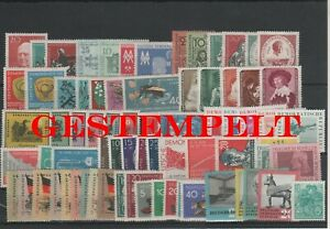 Germany-GDR-DDR-R-d-a-Vintage-Yearset-1959-Timbres-Used-Complet-Complet