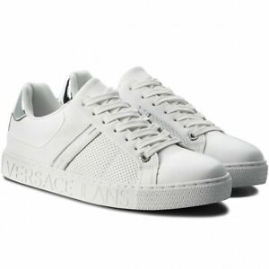 Mens Versace Jeans Leather Trainers