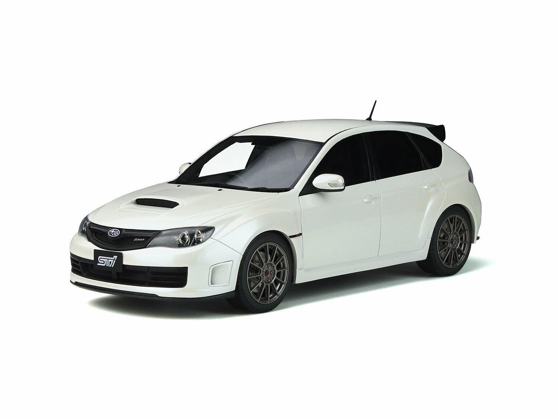 Subaru Impreza Sti R205 biancao Perla Limited 999 piezas 1 18 coche por Otto Mobile OT745