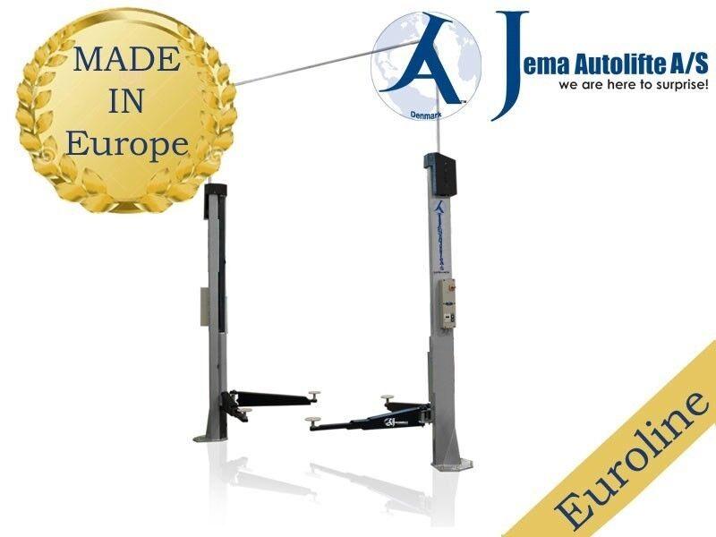 Autolift - 2 Søjlet lift, Jema Autolifte A/S