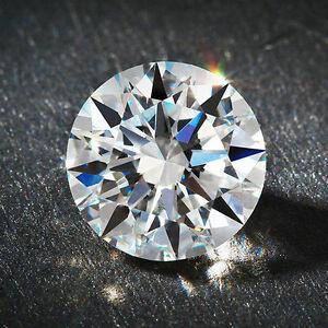 0.50ct Round Cut Solitaire Loose Diamond VVS1-G 5.0mm Single 1/2ct Round Diamond