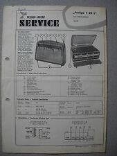 ITT/Schaub Lorenz AMIGO T20L Service Manual