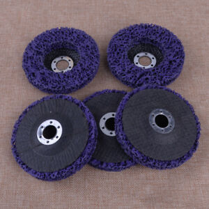 Image Is Loading 5pcs Purple Angle Grinder Discs Strip Poly