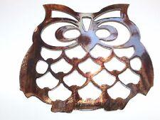 Metal Wall Art Owl Wall Hanging