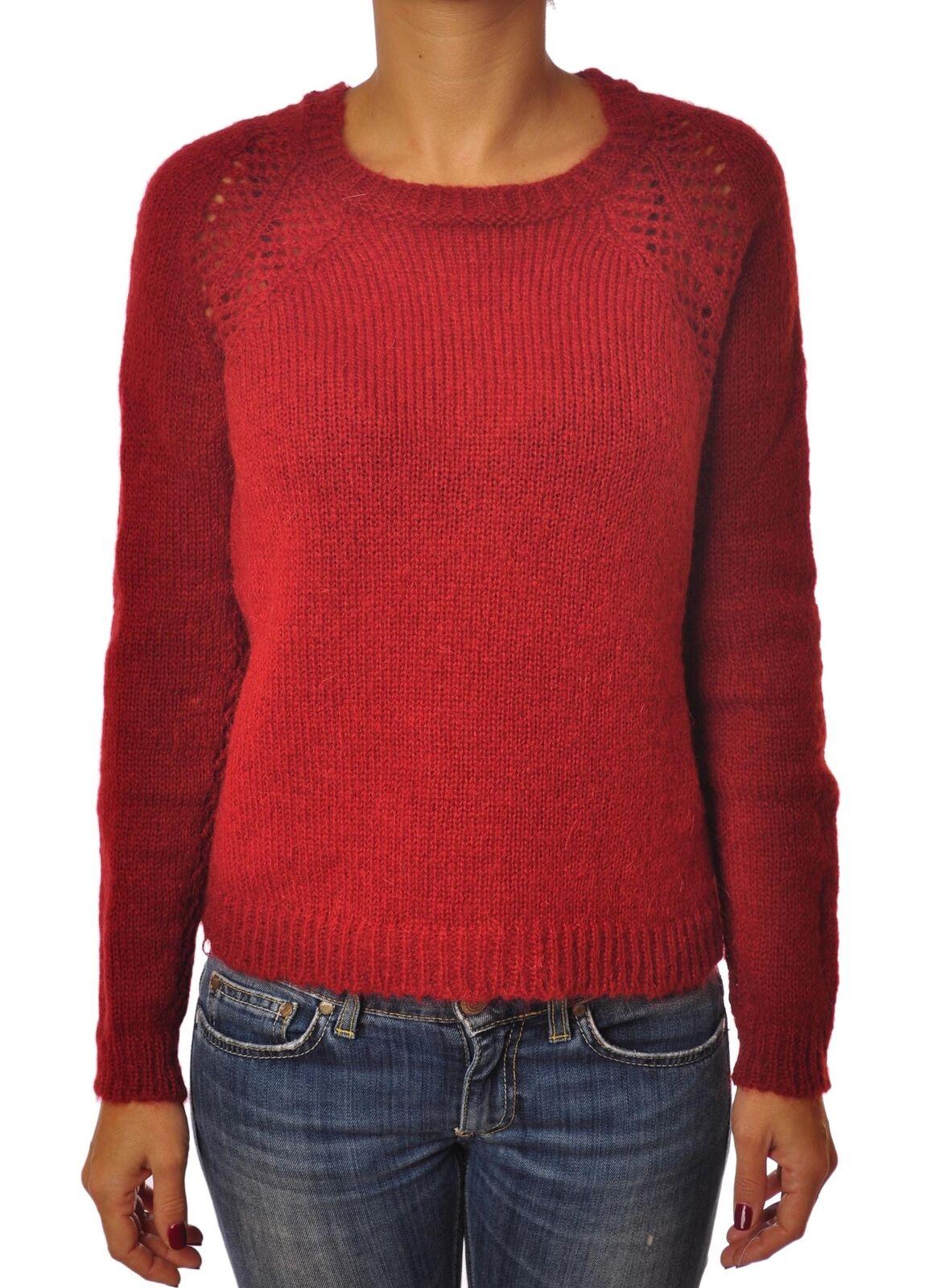 O.D.D.  -  Sweaters - Female - Red - 4267227A184710