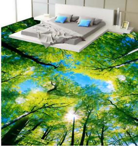 3D Sky Green Forest 78 Floor WallPaper Murals Wall Print Decal AJ WALLPAPER US