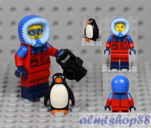 Wildlife Photographer w// Penguin 71013 Minifigure Minifig CMF LEGO Series 16