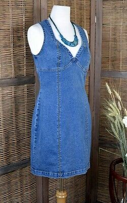 ROBE T 38 MUSTANG JEANS BLEU JEAN'S TAILLE 38 TTBE