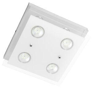 Lampadario-Lampada-luce-Plafoniera-da-soffitto-moderna-in-vetro-con-faretti-LED