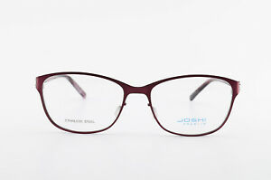 JOSHI-Premium-Brille-Season-One-Mod-JP7695-Col-1-54-16-135-Stainless-Frame